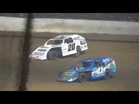 UMP Modified A-Main from Portsmouth Raceway Park, August 21st, 2021. - dirt track racing video image