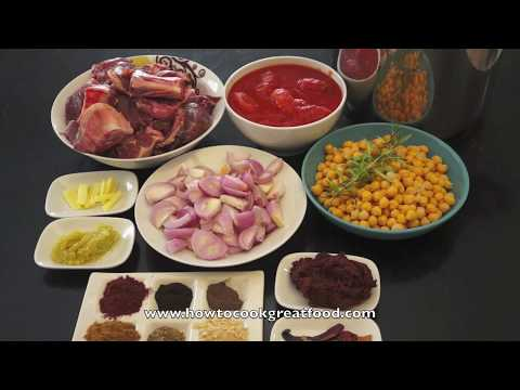 Arab Lamb & Chickpea Stew - Pressure Cooker Meat - Arabic Lamb - Middle Eastern Lamb