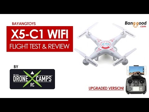 X5C-1 Wifi Quad - Review & Flight Test - UCwojJxGQ0SNeVV09mKlnonA
