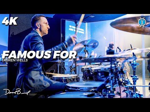 Famous For Drum Cover 4K // Tauren Wells // Daniel Bernard