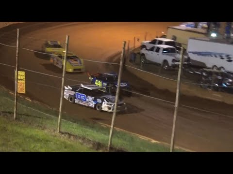 Stock 4a at Winder Barrow Speedway September 25th 2021 - dirt track racing video image