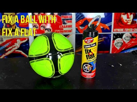 How to Fix a Ball with Fix a Flat - UCe_vXdMrHHseZ_esYUskSBw