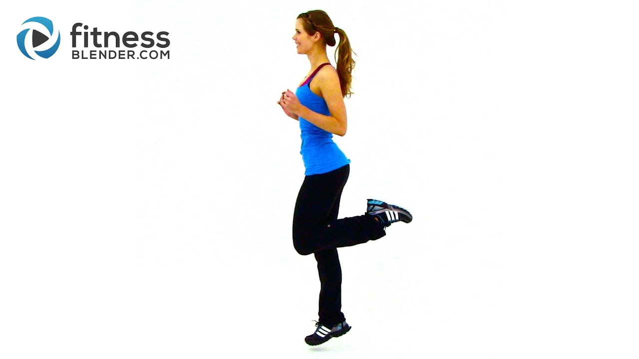 HIIT Workout for Fat Loss – FitnessBlender.com's At Home HIIT Workout Program for Weight Loss