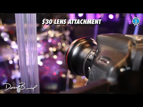 $30 lens attachment to get better drum videos! // Altura Photo HD Fisheye Wide Angle Lens Review
