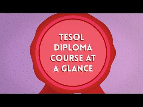 TESOL Diploma Course at a Glance