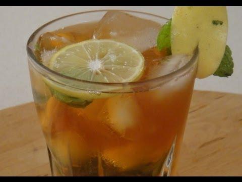 Lemon Mint | Iced Tea | Sanjeev Kapoor Khazana - UCmoX4QULJ9MB00xW4coMiOw