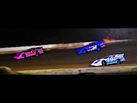 8-13-21 Late Model Feature Winston Speedway - dirt track racing video image