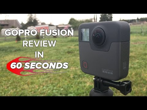 GoPro Fusion Review in 60 seconds! - UCCjyq_K1Xwfg8Lndy7lKMpA