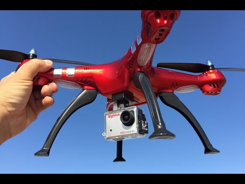 SYMA X8HG TEST FLIGHT----ALTITUDE HOLD!!! - UC9l2p3EeqAQxO0e-NaZPCpA
