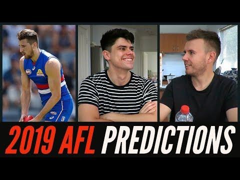 Joycey's 2019 AFL Predictions