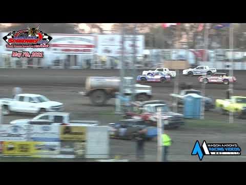 River Cities Speedway WISSOTA Street Stock A-Main (5/7/21) - dirt track racing video image
