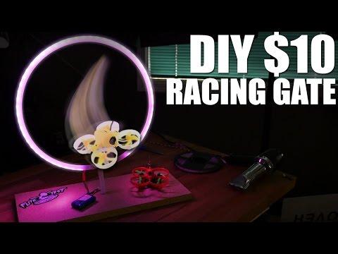DIY $10 Drone Racing Gates | Flite Test - UC9zTuyWffK9ckEz1216noAw