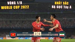 PES 19 | FIFA WORLD CUP 2022 | VÒNG 1/8 KNOCK OUT | VIET NAM vs IRAN - Giấc mơ Bóng Đá VIỆT NAM