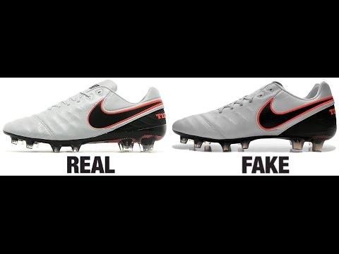 dd693152d How To Spot Fake Nike Tiempo Legend VI 6 Football Boots Authentic vs  Replica Comparison