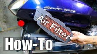 Cambio filtro aria Honda Silver Wing 600