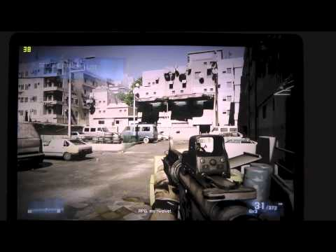 Macbook Pro retina Game test battlefield 3 - default