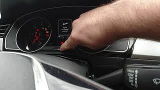 Reset service Volkswagen PASSAT B8