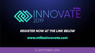 INNOVATE 2019 - Europe's Largest Information Management Event