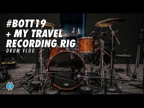 Drum Vlog // #BOTT19 Highlights + My Travel Tracking Rig