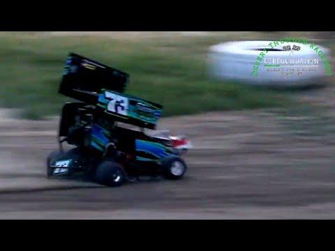 Desert Thunder Raceway Go Karts 8/6/21 - dirt track racing video image