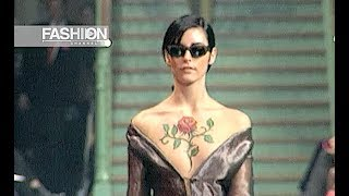 ROMEO GIGLI Spring Summer 1996 Paris - Fashion Channel