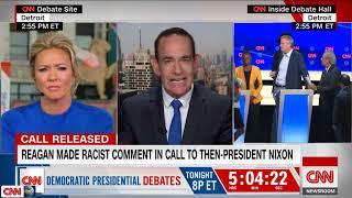Agus 01, 2019   Released tape features Ronald Reagan using racist slur