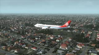 CARGOLUX 747-8F Crashes at Melbourne City