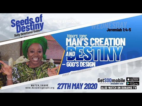 Dr Becky Paul-Enenche - SEEDS OF DESTINY - WEDNESDAY, 27 MAY, 2020