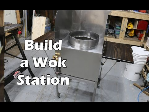 How to Build a Stainless Steel Wok Station - With High Pressure Propane Burner - UCAn_HKnYFSombNl-Y-LjwyA