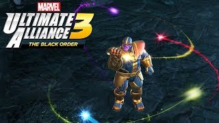Thanos Obtains the Infinity Stones - MARVEL ULTIMATE ALLIANCE 3 THE BLACK ORDER