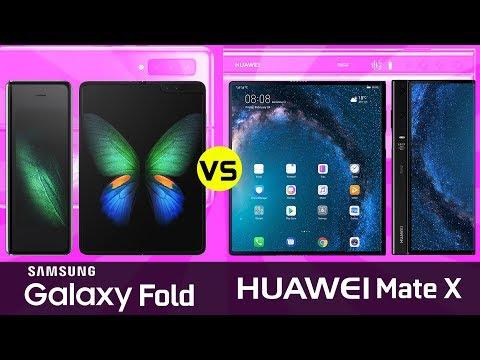 Samsung Galaxy Fold vs Huawei Mate X - What's the Best Foldable Smartphone? - UCeWinLl2vXvt09gZdBM6TfA