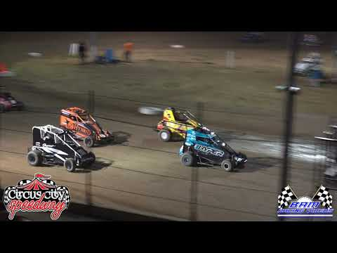 Non-Wing Outlaw Feature - Circus City Speedway 5/15/21 - dirt track racing video image