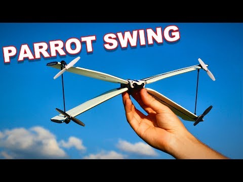 Parrot Swing a Drone Airplane Combo - TheRcSaylors - UCYWhRC3xtD_acDIZdr53huA